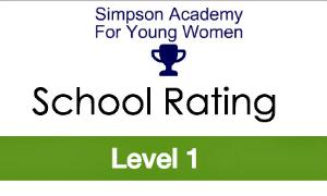 Simpson Academy Reaches Level 1 Status!